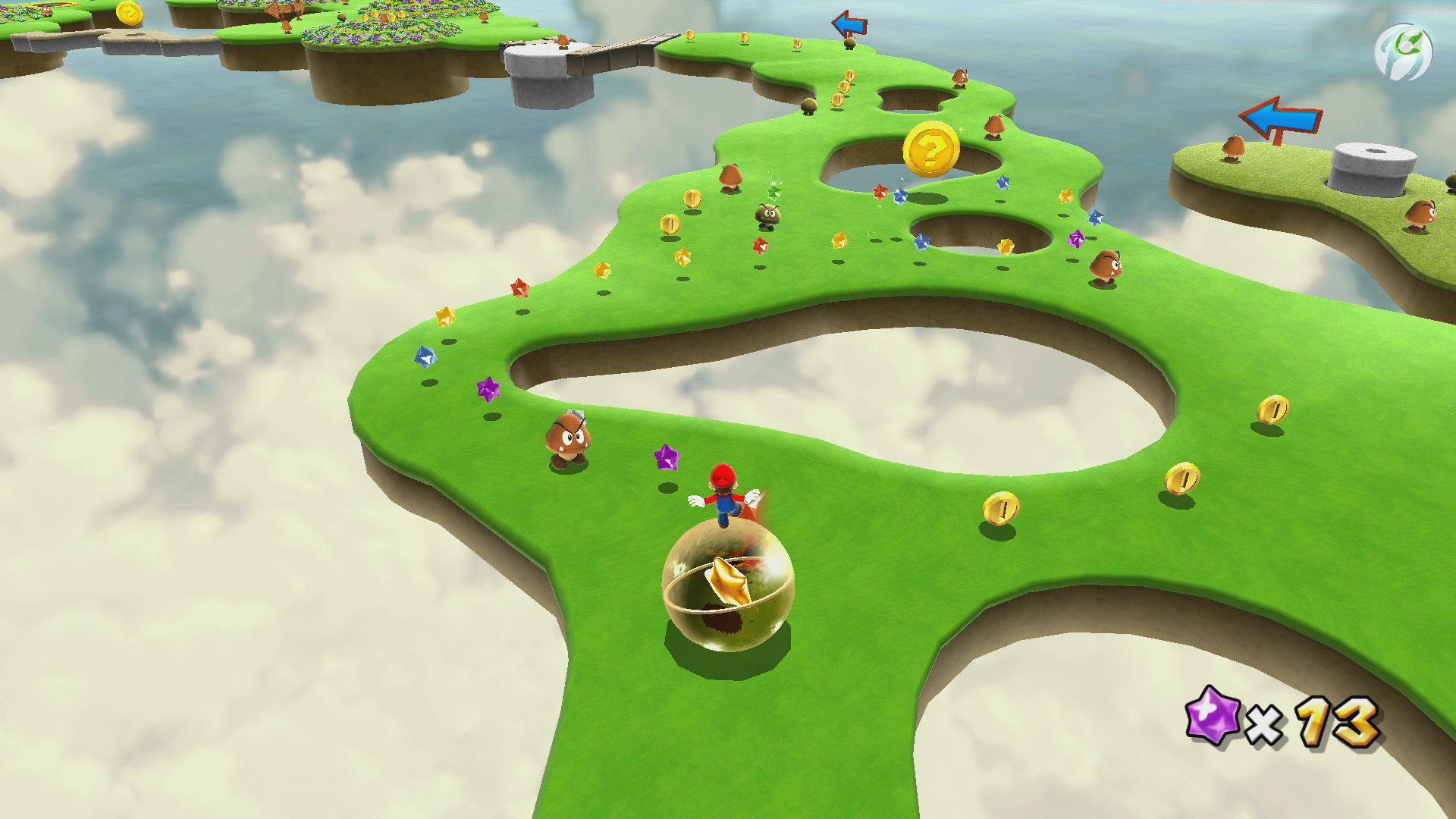 Super Mario 3D All-Stars - Super Mario Galaxy - Balance mit Bewegungssteuerung