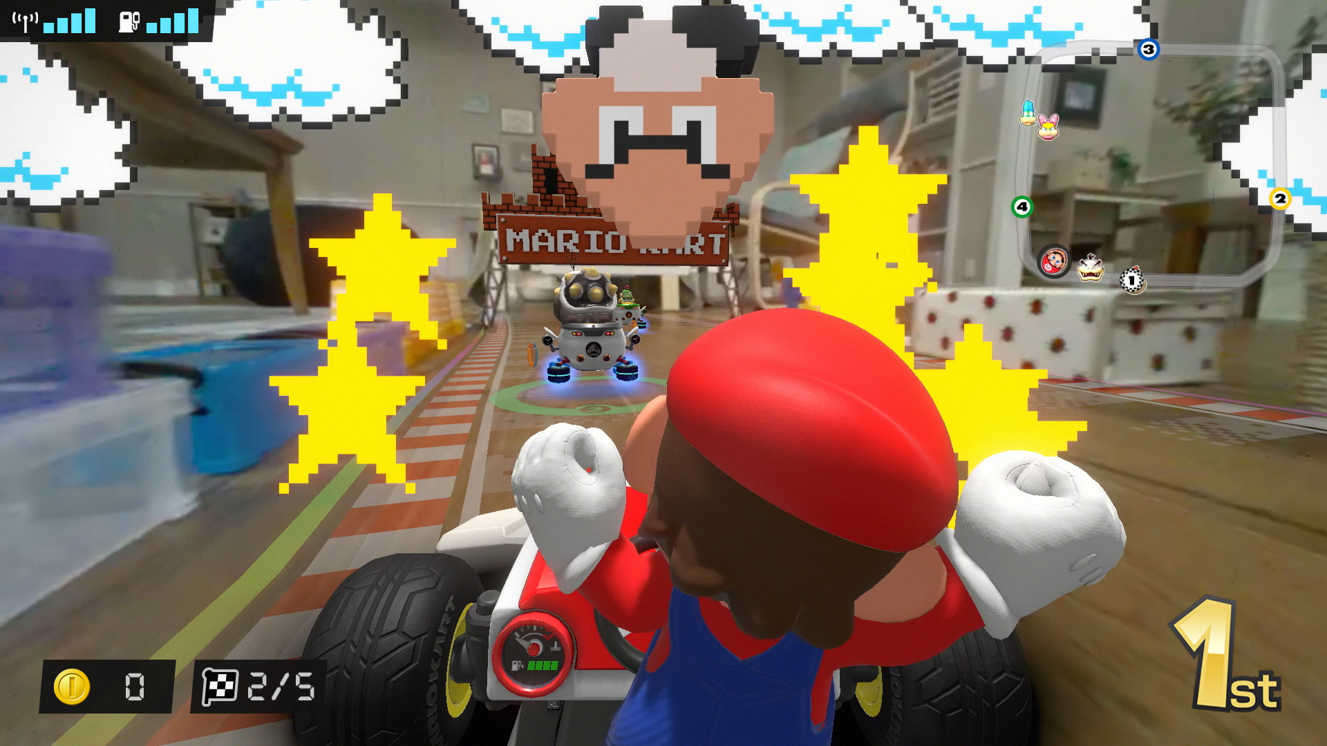 Quelle: Nintendo - Mario Kart Live: Home Circuit - Gumba