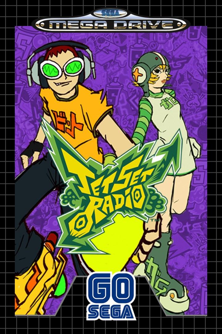 Quelle: SEGA - Jet Set Radio (2000) MEGA DRIVE
