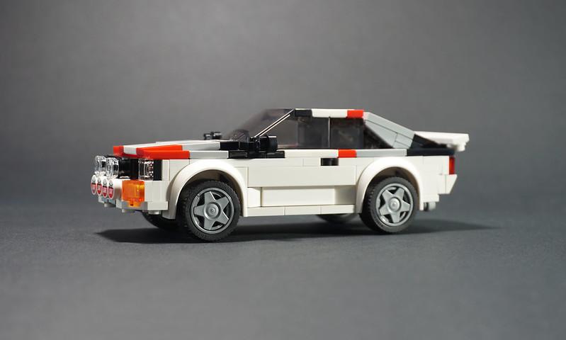 Jonathan Elliott - LEGO Audi Quattro Group B