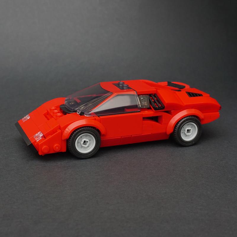 Jonathan Elliott - LEGO Lamborghini Countach LP400