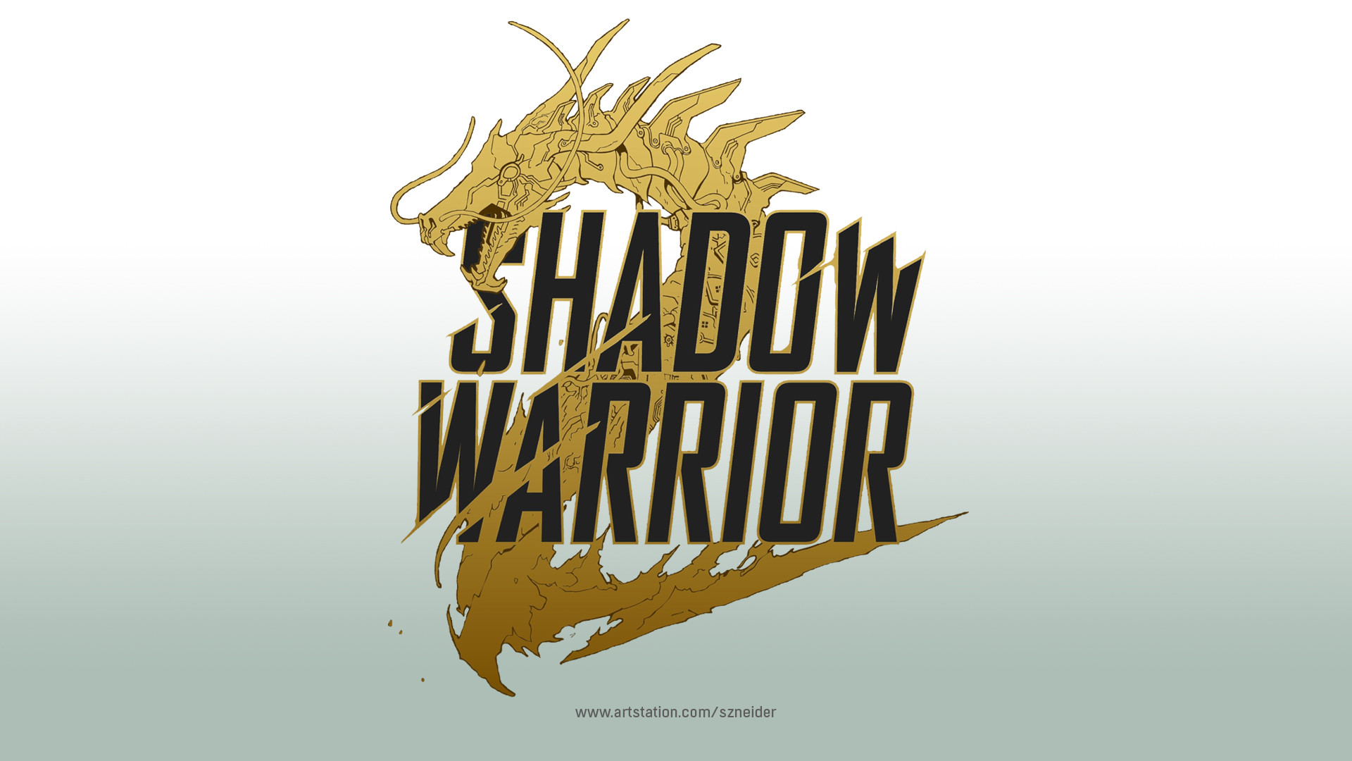 Quelle: artstation - Benedykt Szneider - Logo Design - Shadow Warrior 2
