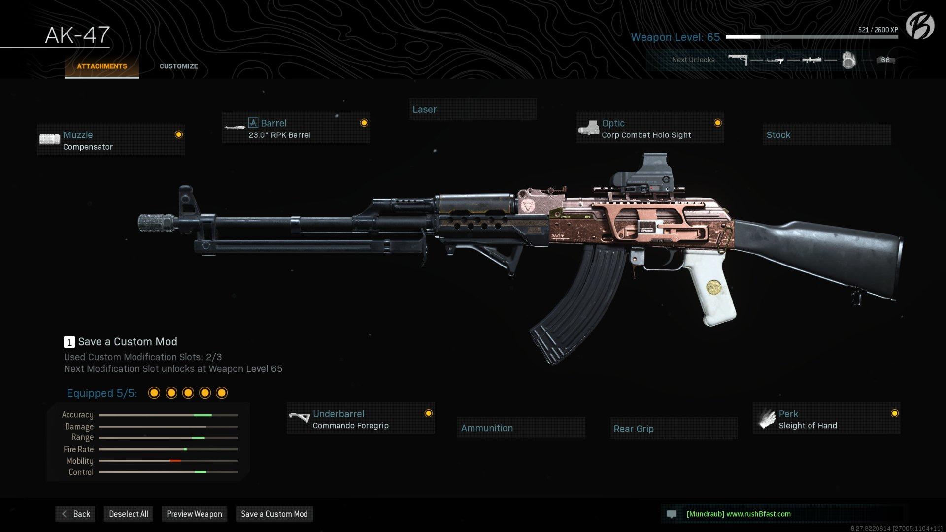 Warzone Loadout: AK-47 (Season 6)
