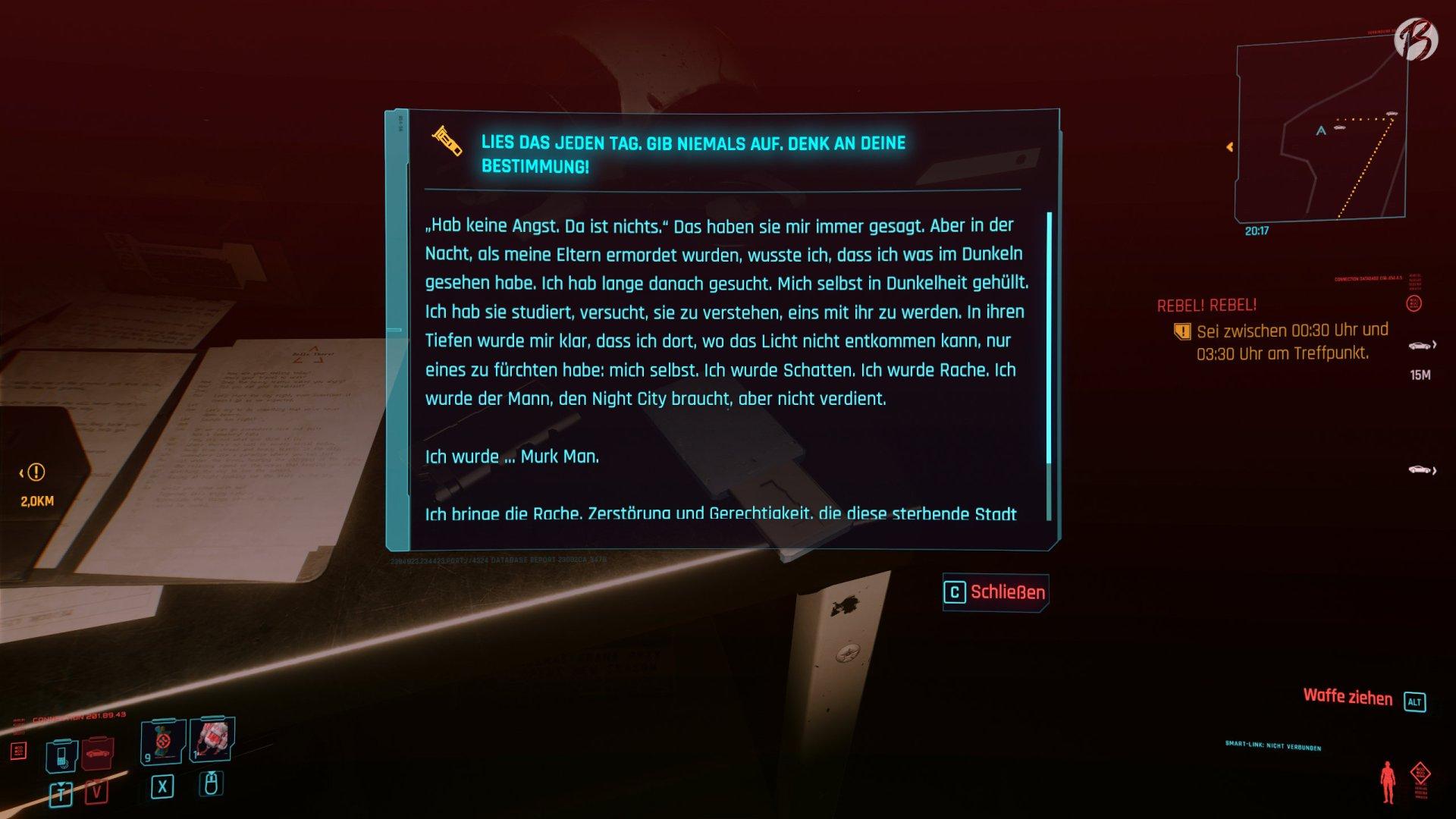 Cyberpunk-2077 - Splitter: Die Geschichte von Murk-Man