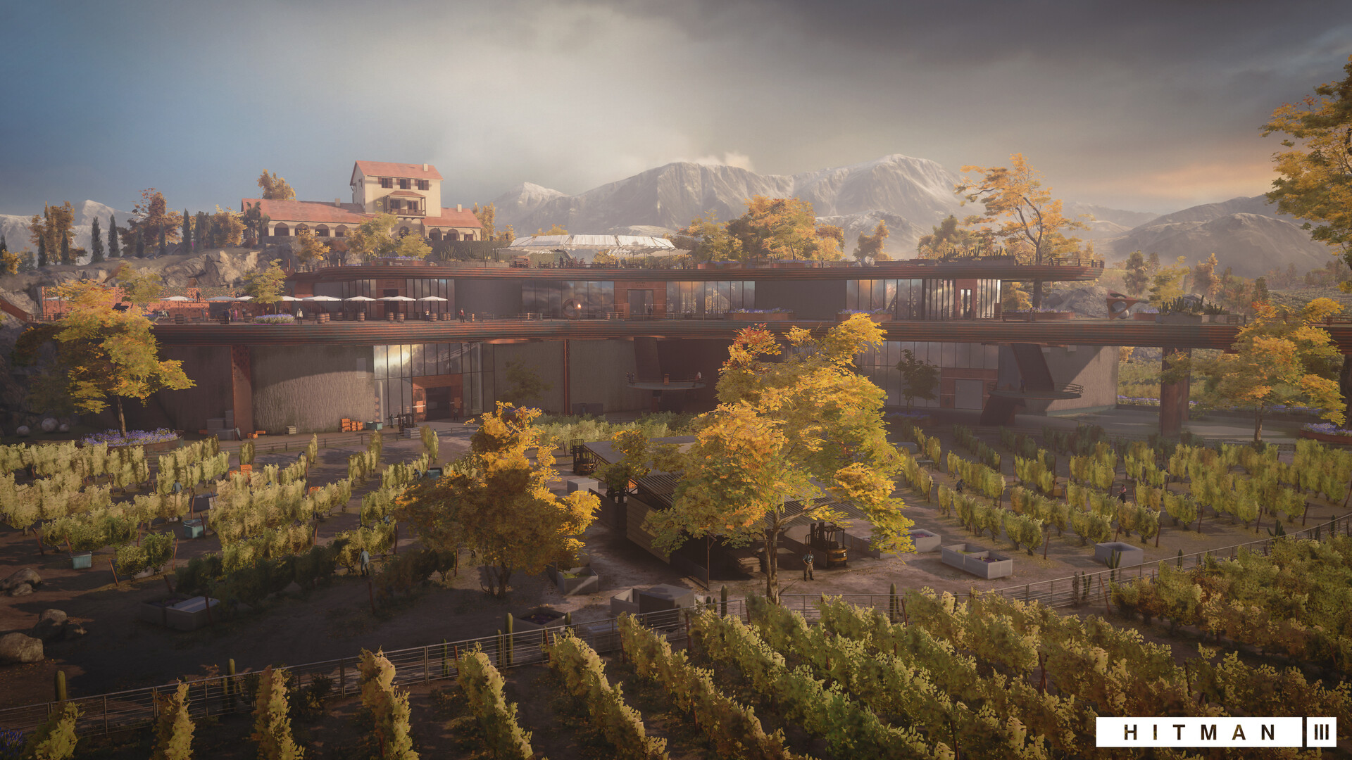 Quelle: ArtStation - Hitman 3: Mendoza (2021) - Weingut