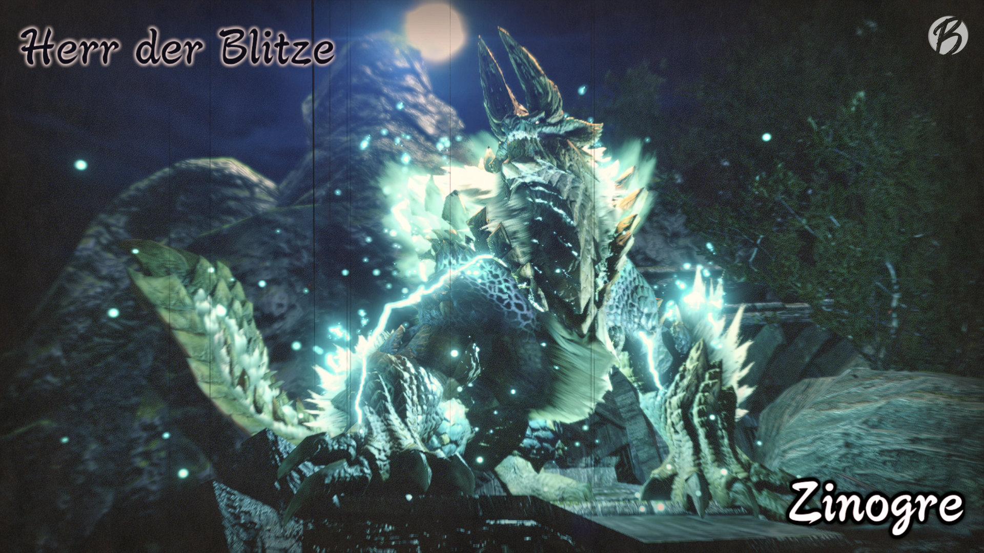 Monster Hunter Rise - Wenn der Zinogre durchdreht fliegen die Blitze.