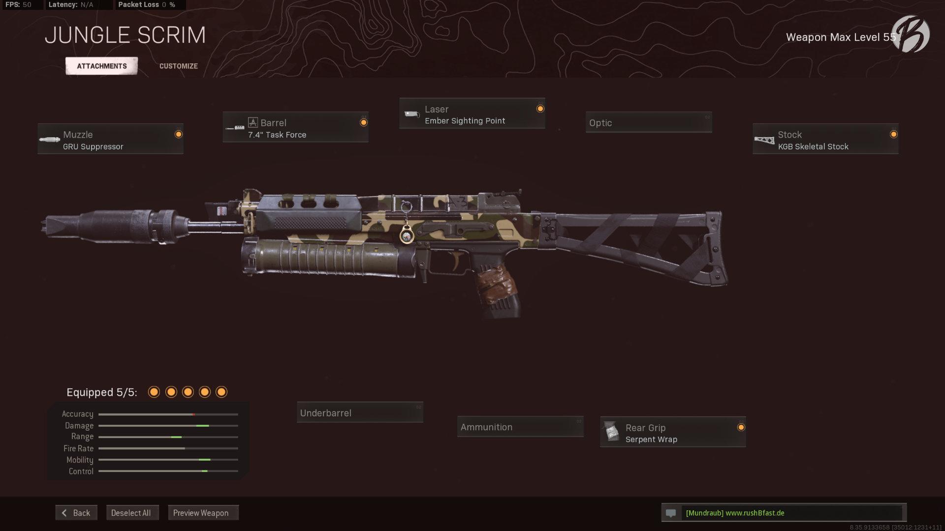 Call of Duty Warzone - Cold War Season 3 - Bullfrog