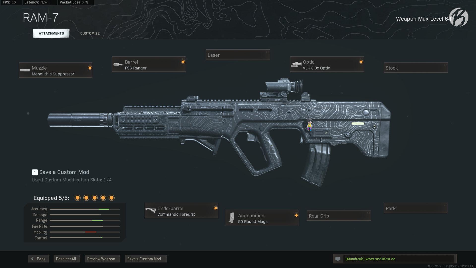 Call of Duty Warzone - Cold War Season 3 - Ram-7