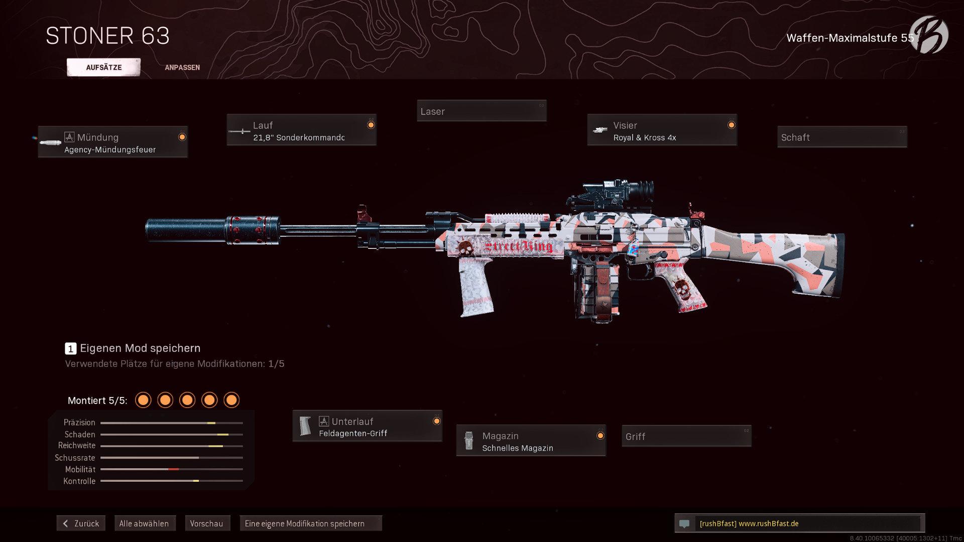 Call of Duty Warzone - Cold War Season 5 - Stoner 63 (deutsch)