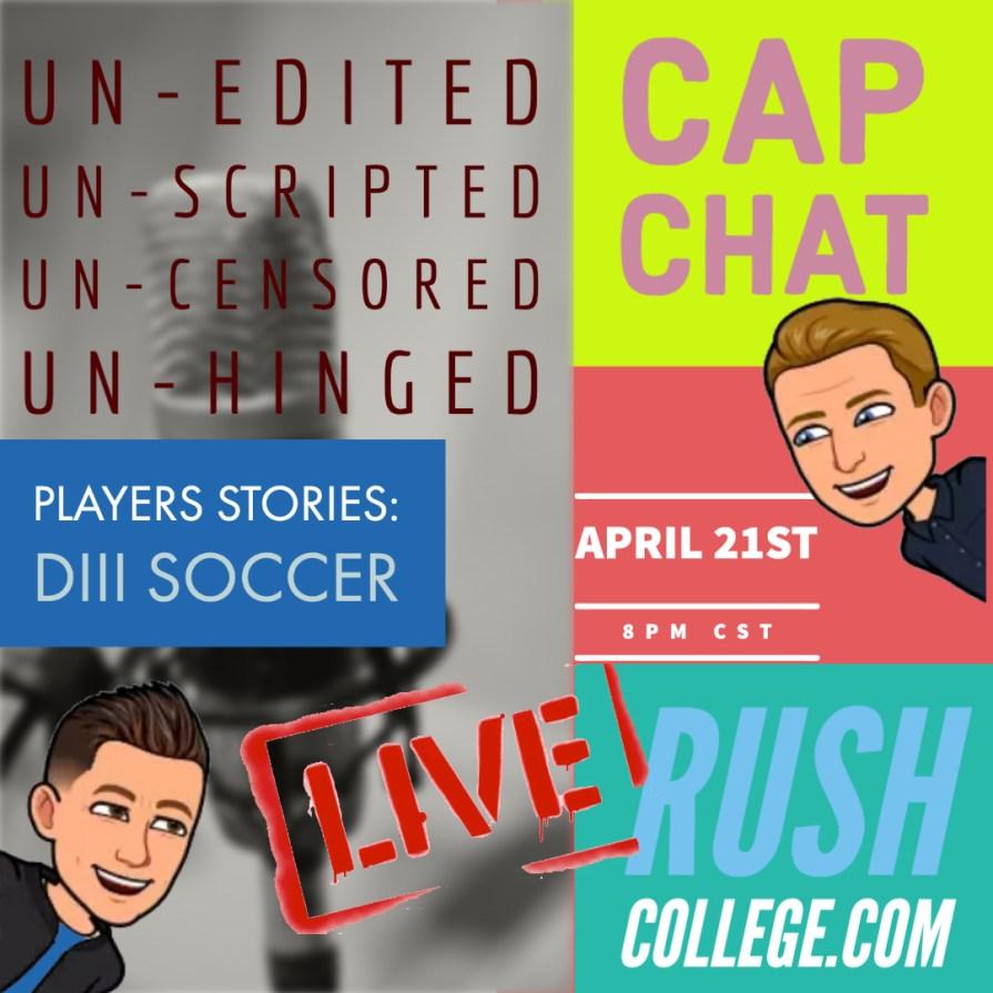 CAP CHAT LIVE April 21