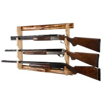 3-Gun Wall Rack  Rush Creek Creations