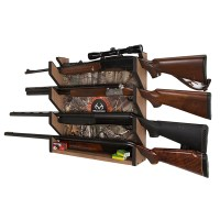 Rush Creek REALTREE Camo 4-Gun Wall Storage Rack 39-4004