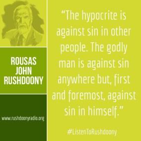Rushdoony Quote 20