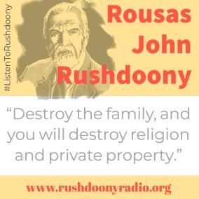 Rushdoony Quote 37