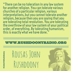 Rushdoony Quote 49