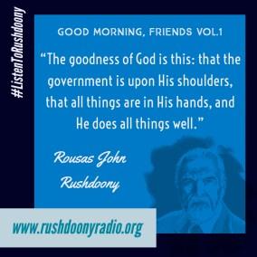 Rushdoony Quote 72