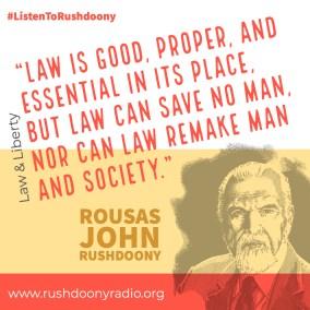 Rushdoony Quote 93