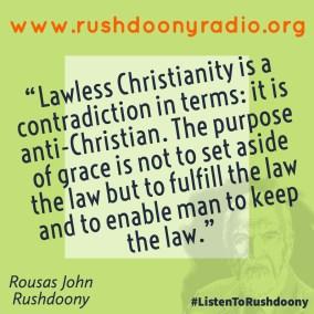 Rushdoony Quote 95