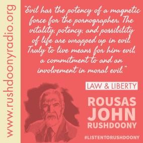 Rushdoony Quote 103