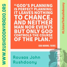 Rushdoony Quote 111