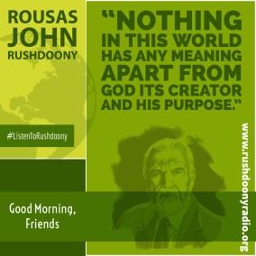 Rushdoony Quote 113