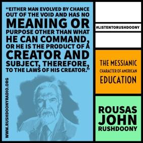 Rushdoony Quote 116