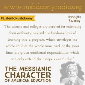 Rushdoony Quote 118