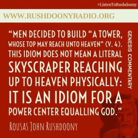 Rushdoony Quote 123
