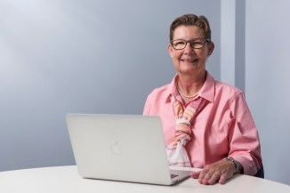 """Janet L. Engstrom, PhD Excellence in Education Professor, Department of Women, Children and Family Nursing """"Dr. Engstrom's commitment to quality online learning compelled her to transform the most feared course by our students into a course that is constantly praised by students. Her courses are designed to be intuitive."""" — Wrenetha Julion PhD, MPH, RN, Professor and Chair, Department of Women, Children and Family Nursing"""