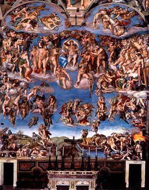 Микеланджело. Страшный суд