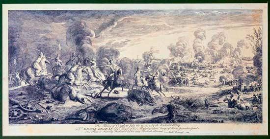 Взятие Очакова русскими в 1737
