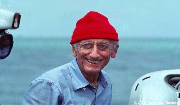 Captain Jacques Yves Cousteau