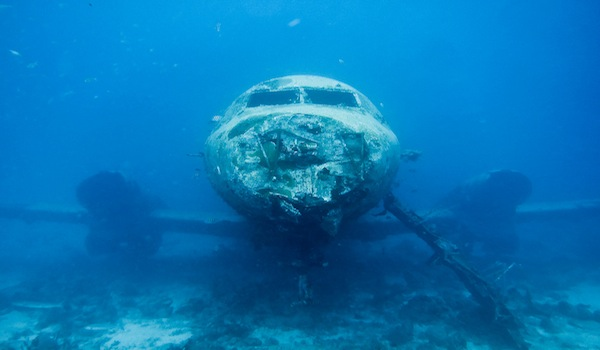 Wreck diving Aruba
