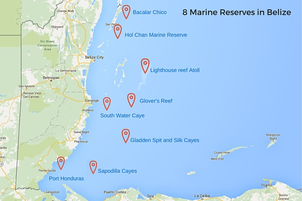 Marine Reserves in Belize