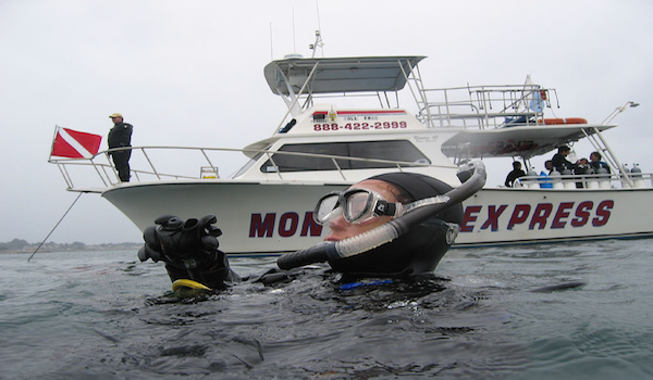 boat dive trip