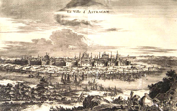 Крепость Астрахань