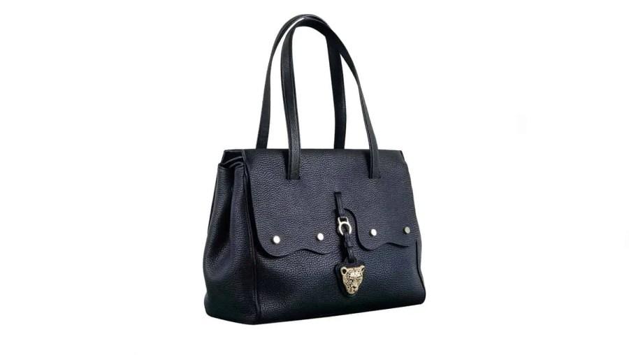 Black Fiore Bag by Rusi