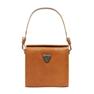 Tan Brown Micro Boxy Bag