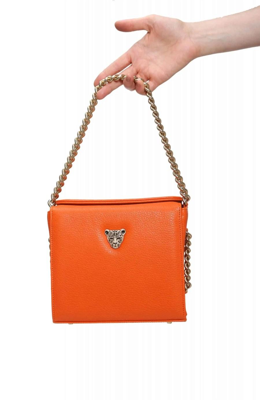 Orange MiniB boxy bag RusiDesigns