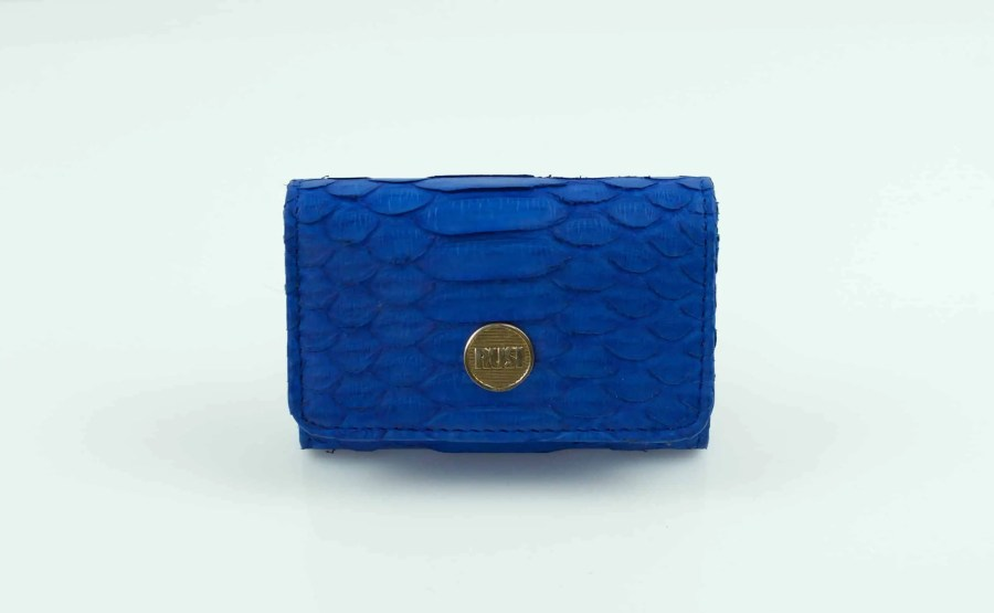 1.1 Electric Blue Mini wallet  scaled