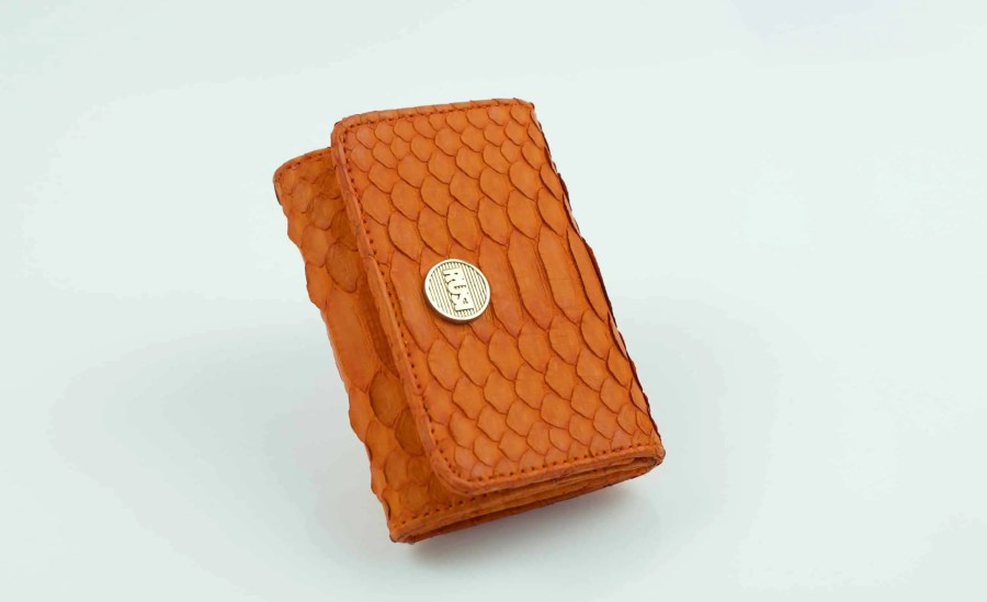 3.2 orange mini wallet side  scaled