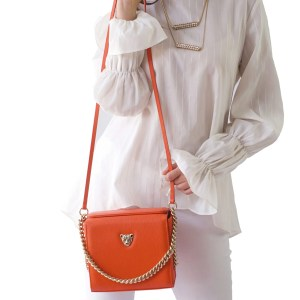 Orange MiniB Tote Bag Rusi