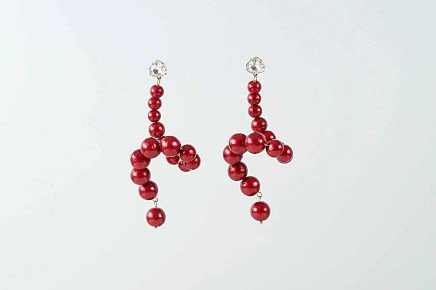 red swan earrings 2  scaled