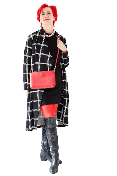Red Cross body outfit