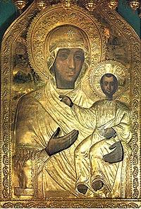 Чудотворная икона Божией Матери *Одигитрия* Смоленская