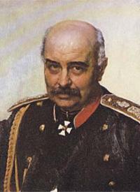 Михаил Иванович Драгомиров (портрет И.Е. Репина, 1889 г.)