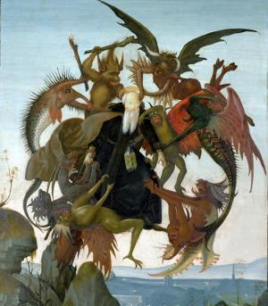 Микеланджело. Мучения святого Антония