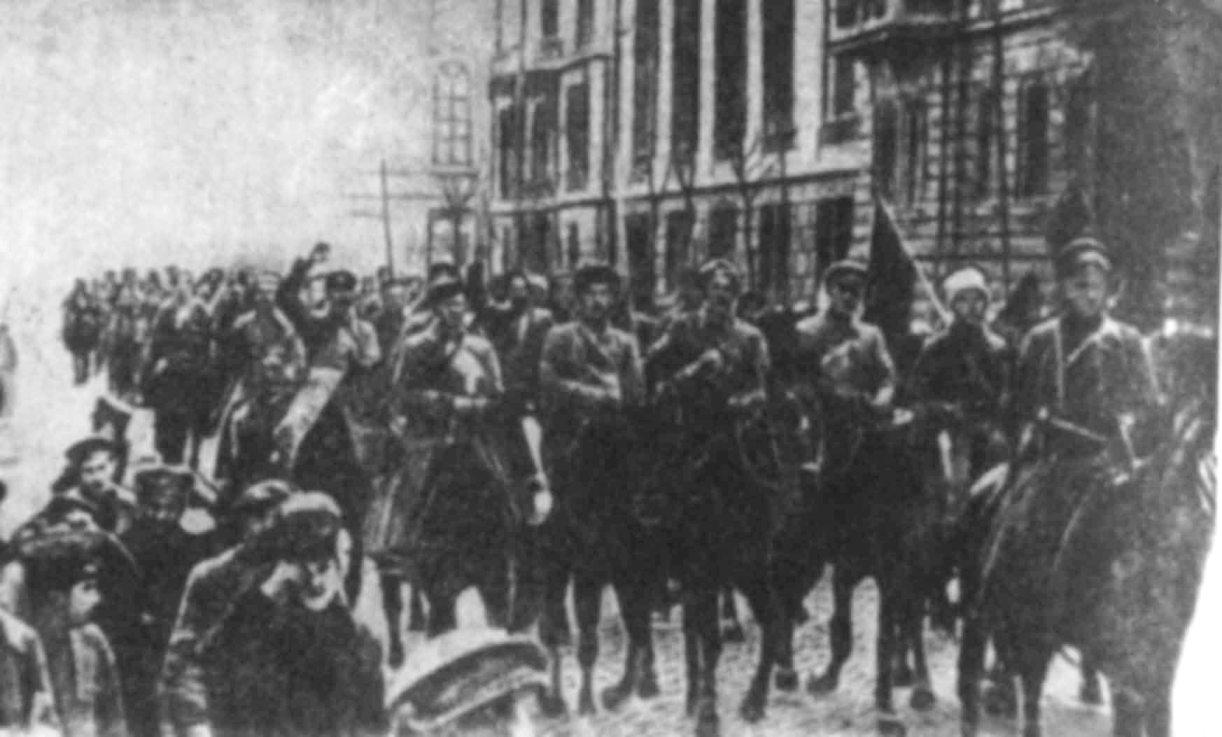 Вступление красных войск в Севастополь. Май 1919 г.