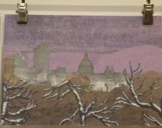 michael-barton-painting-of-london-and-trees