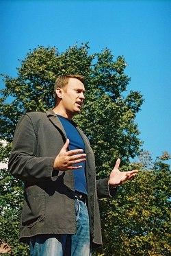 Aleksej Navalnyj - Foto af Oleg Kozyrev via Wikipedia